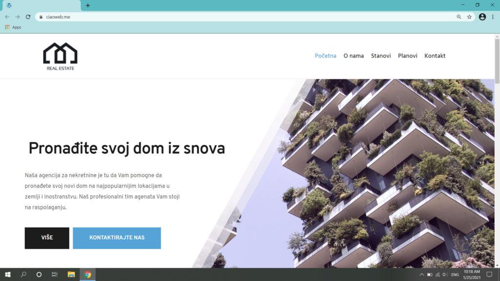 website creation by laganoo